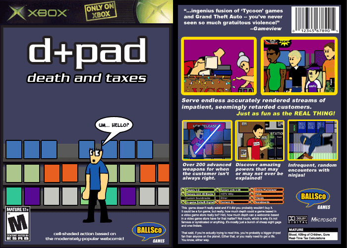 d+pad: Death and Taxes
